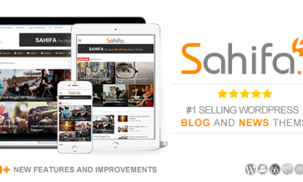 Sahifa – Responsive WordPress News,Magazine,Blog Theme v.5.2.0