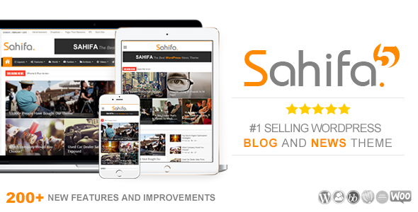 Sahifa – Responsive WordPress News,Magazine,Blog Theme v.5.2.0
