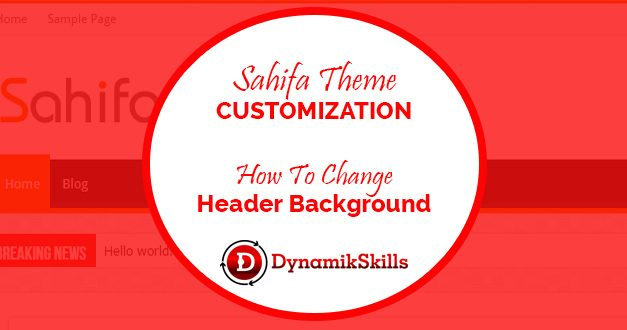 How to Customize Sahifa WordPress Theme Header