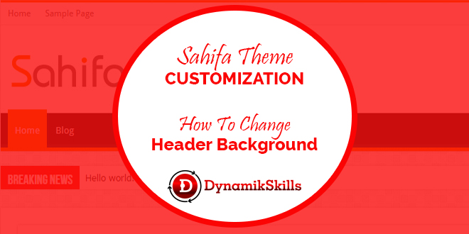 How to Customize Sahifa WordPress Theme Header