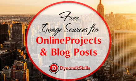 Free Image Sources for Projects and Blog Posts