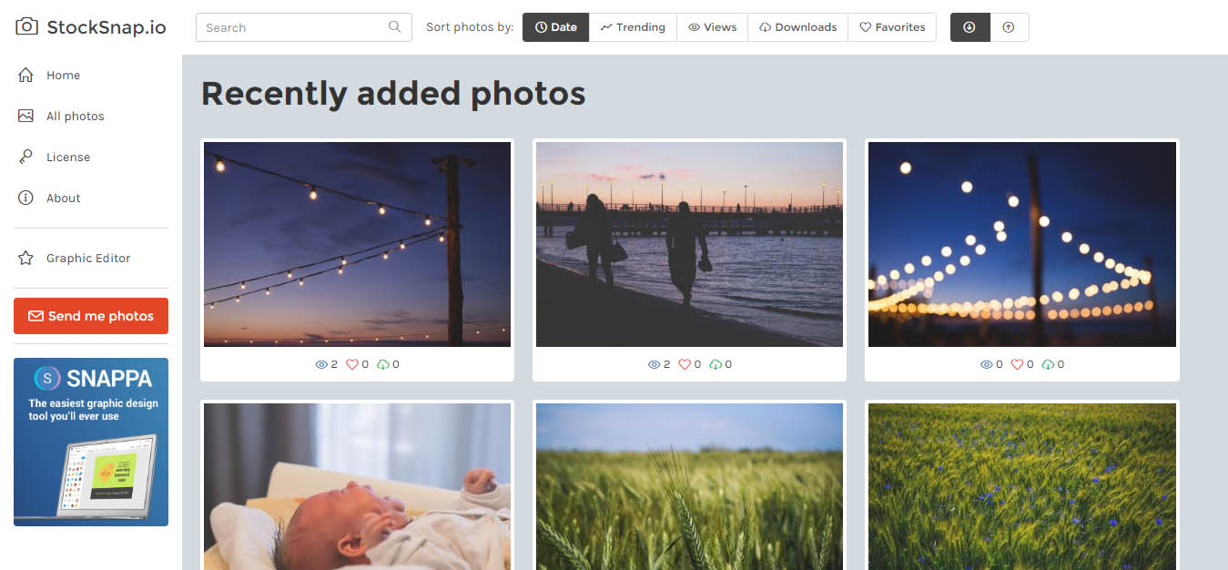 StockSnap.io Beautiful Free Stock Photos CC0