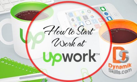 How to Start Work at Upwork and Earn Money