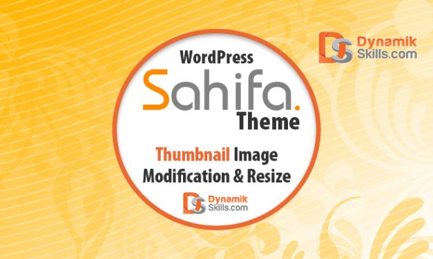 How to Modify Thumbnail Images in WordPress Sahifa Theme in Posts, Related Posts and Sidebar Widget