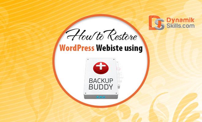 Backup and Restore WordPress Website using BackupBuddy