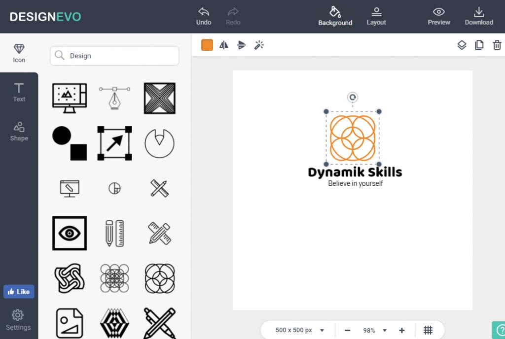 DesignEvo Icons